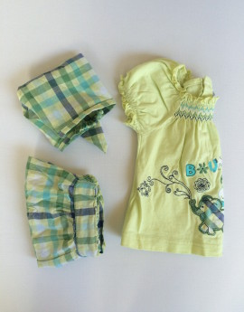 Petit Fox - cheap summer baby girl clothes
