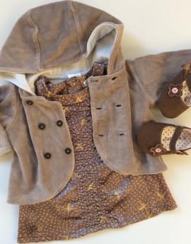 Little girl cheap outfit Petit Fox