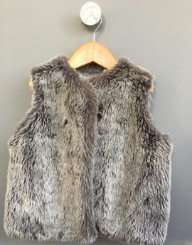 faux fur jacket country road kids
