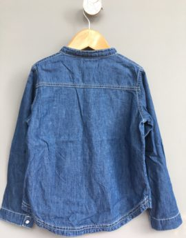 denim dress shirt woolworths