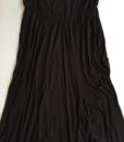 maternity black maxi skirt
