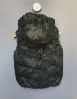 camo camouflage F&F sleeveless jacket
