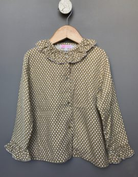 amaia blouse with apples print