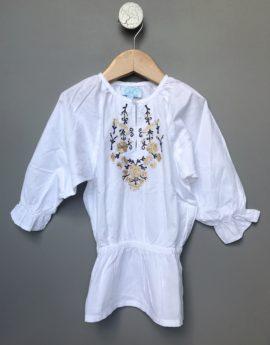 c de c embroidered blouse