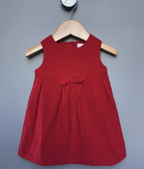 next baby corduroy dress