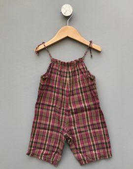 bonpoint madras jumpsuit