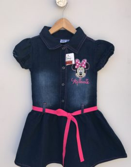 minnie mose denim dress