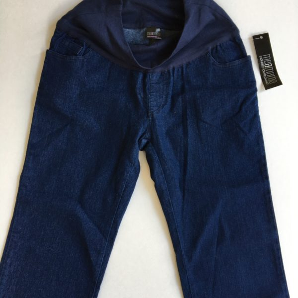 meamama bootleg maternity jeans