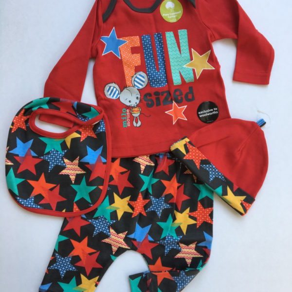 woolworths baby set