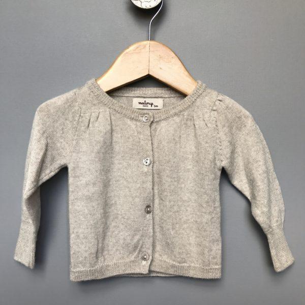 merino wool cardigan by maloup