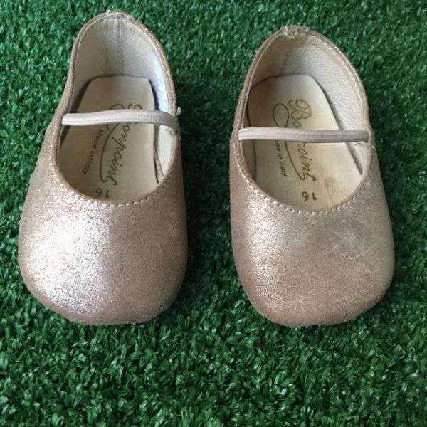 bonpoint baby ballerinas pumps leather